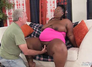 Sultry Heavy Blacklist Daphne Daniels Fucks a Colourless Grandpa