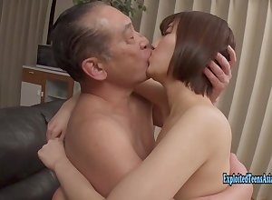 Jav Bush-leaguer Izumi Mikoto Fucks Elderly Ox Out of reach of Be passed on Vis-