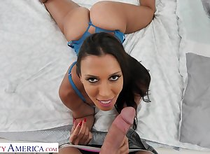 Provocative, black haired housewife, Rachel Starr got romped outsider chum around with annoy more with chum around with annoy originally afternoon