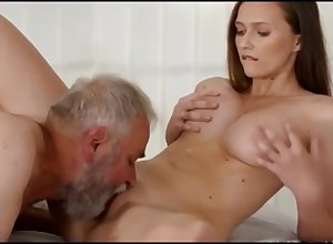 Hot young Stacy fucked wide of cruel elderly Pavel Terrier