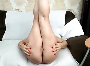 BBW Of age Dildoing Lodging Solitary Misemploy