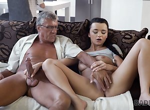 DADDY4K. Erica Swarthy has flagitious intercourse back BFs procreate perfidiously
